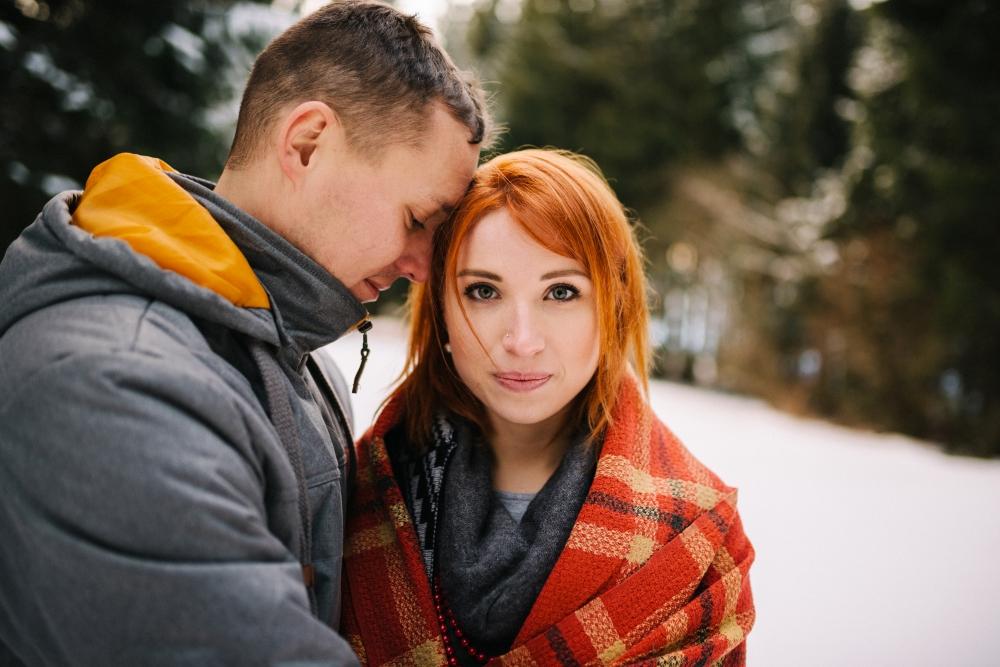 Mrazive rande, fotografie Severska svatba na blogu Originalni Svatba