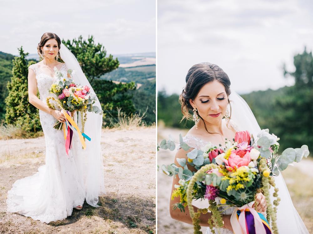 Bohémská svatba v stodole s barevnými detaily, fotografie HMfoto.sk, Moment v stodole, na blogu Originální Svatba