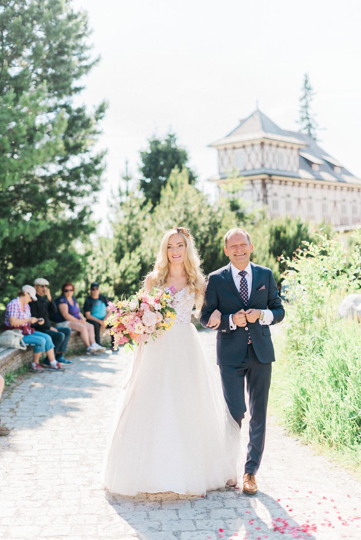 Svatební focení v Tatrách, fotografie Gabriela Jarkovská na blogu Originální Svatba