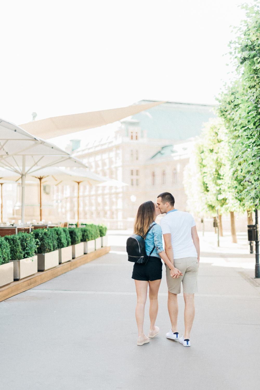 Předsvatební focení ve Vídni, fotografie Gabriela Jarkovská na blogu Originální Svatba