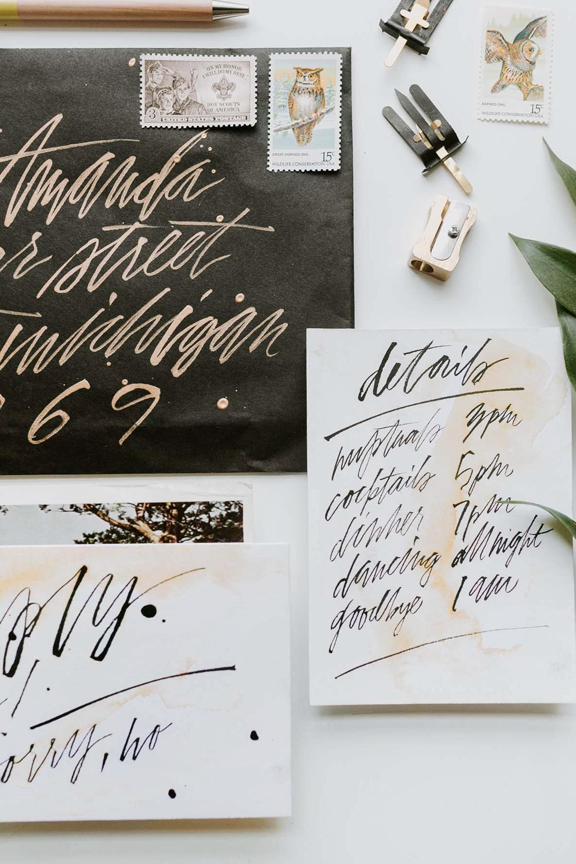 5 Napadu Na Rukou Psany Svatebni Den Originalni Svatba